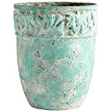 Cyan Design 09607 Rome Antique Green Planter, Large