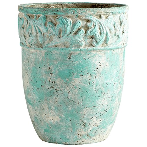 Cyan Design 09607 Rome Antique Green Planter, Large by Cyan Design