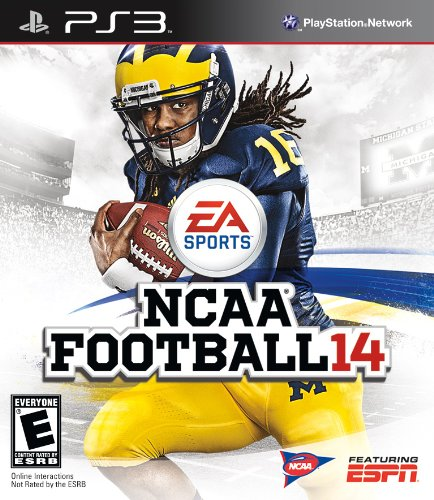 NCAA Football 14 - Playstation 3 (Football Delaware)