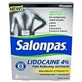 Salonpas Lidocaine 4% Pain Relieving Maximum