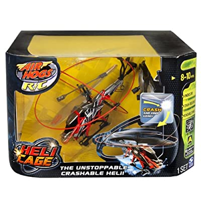 Air Hogs - Heli Cage - Red from Air Hogs