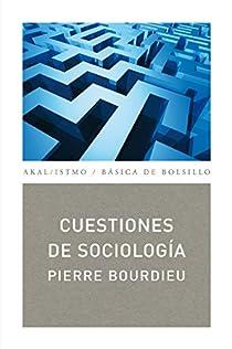 Cuestiones de Sociología par Pierre