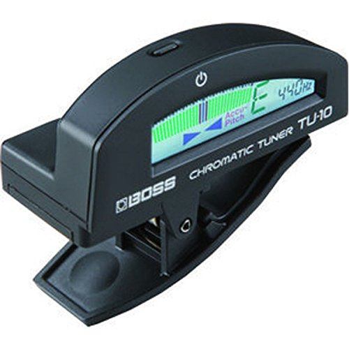 Boss TU10BK Clip-On Chromatic Tuner