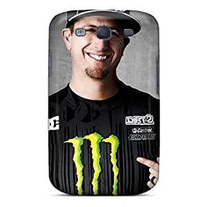 New Style Tpu S3 Protective Case Cover/ Galaxy Case - Ken Block