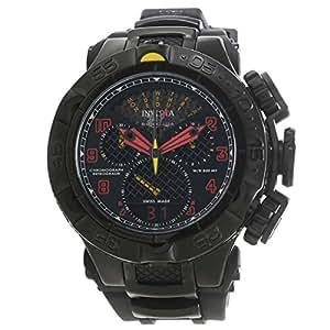 Invicta Men's Subaqua Black Polyurethane Band Steel Case Swiss Quartz Analog Watch 20221