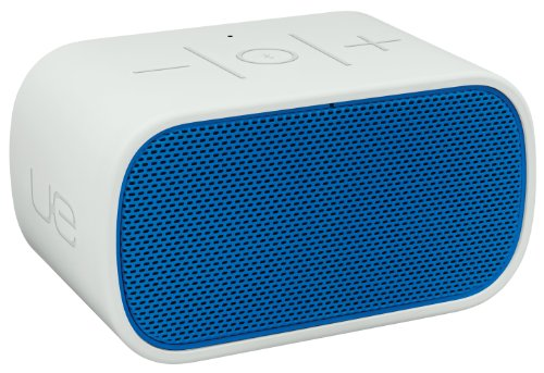 Logitech UE 984-000294 Mobile Boombox Bluetooth Speaker and Speakerphone (Blue Grill/Light Grey)