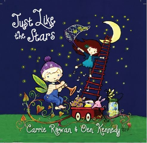 Children's Music CD Just Like the Stars- Educates, Entertains, Inspires - Fun for Little Ones - Adults will LOVE too...Guaranteed - Great Stocking Stuffer, Calming 4 Babies/Children & Parents