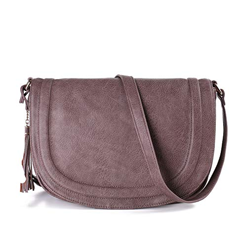 Crossbody Bags for Women, Shoulder Handbags for Women 9.84 x 3 x 7.5 Inch Waterproof Multi Pocket Tote Purse Handbag, Great Buy for Yourself or As a Gift for Important Ones (Small)