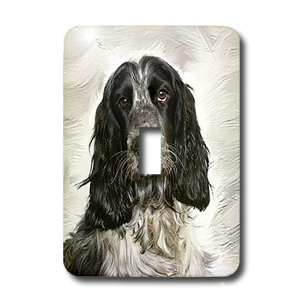 3dRose LLC lsp_3963_1 English Springer Spaniel Single Toggle Switch