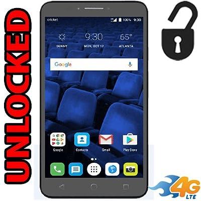 "Alcatel Pixi Theatre 4G LTE Unlocked (Cricket) 5098O USA Latin & Caribbean Bands 6"" 16GB 2GB Ram Android 6.0 Desbloqueado"