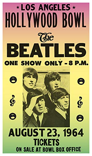 (The Beatles - Hollywood Bowl in Los Angeles 13