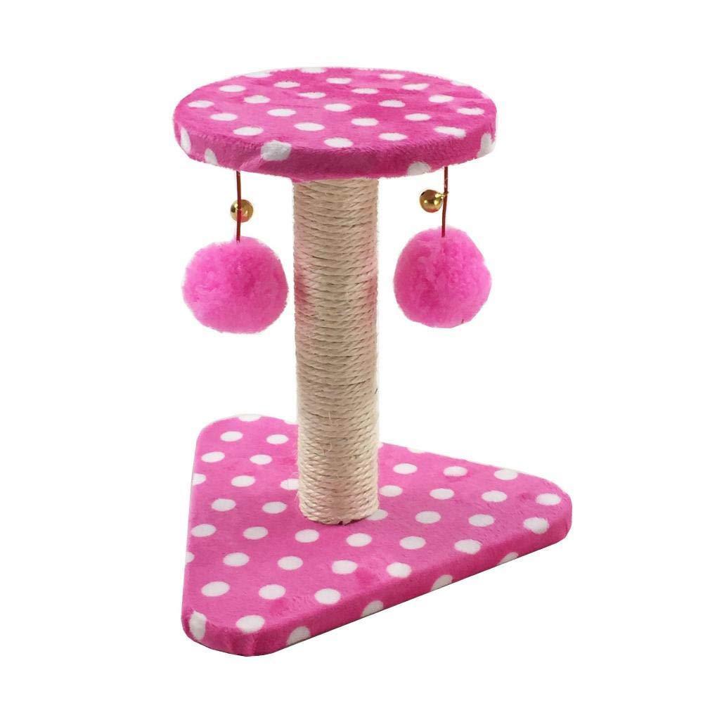 Small Hexiansheng Cat Climb Trees Pet cat Toy Platform grab column Grab board furniture sheet rope Flannel
