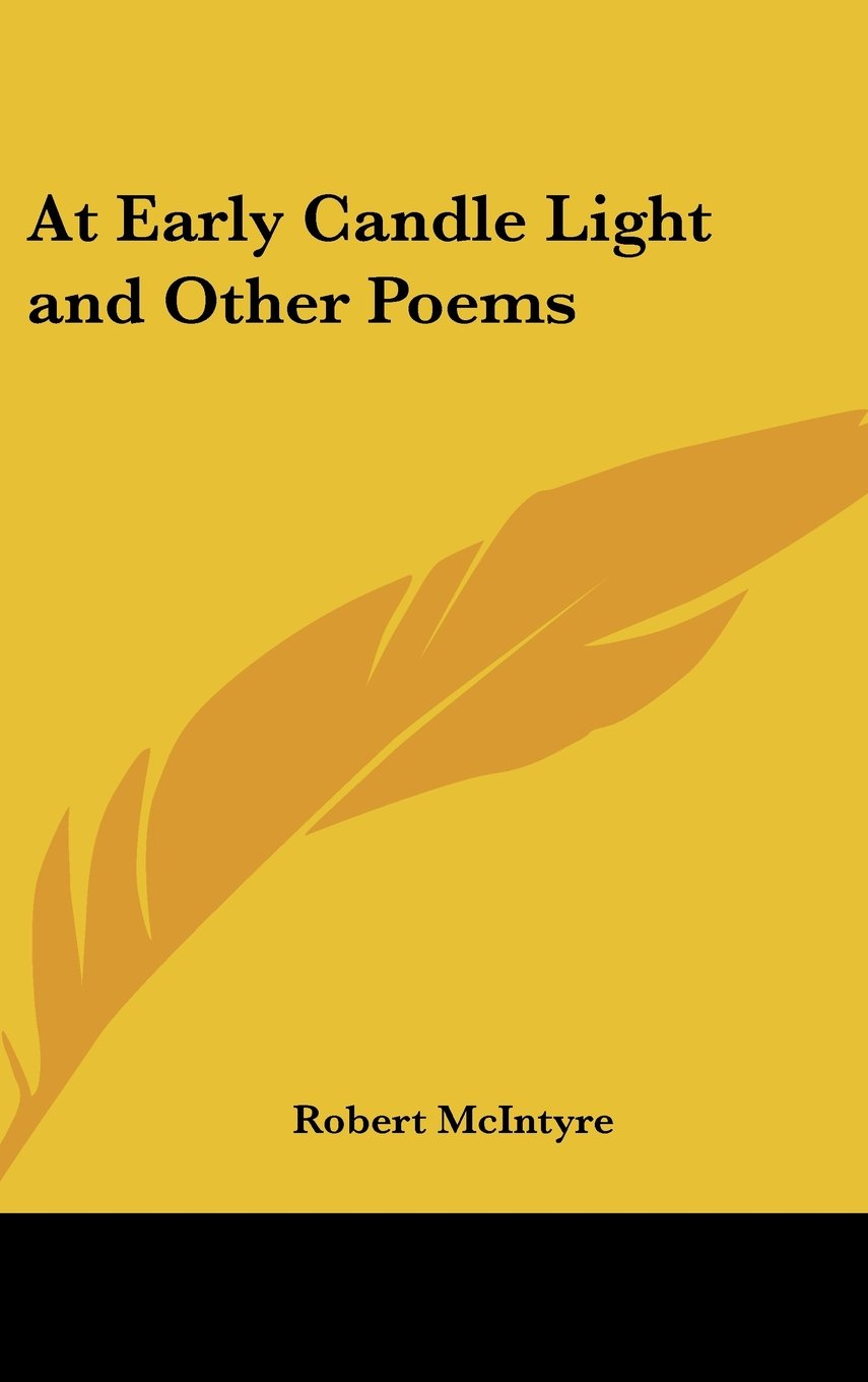 Download At Early Candle Light and Other Poems PDF
