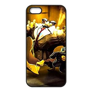 Generic for iPhone 5 5s Cell Phone Case Black Blitzcrank Custom HFOKHJHLK3781