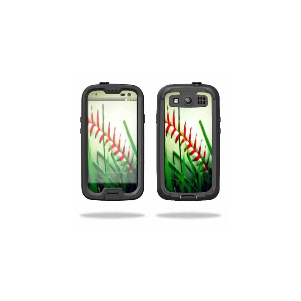Mightyskins Protective Vinyl Skin Decal Cover for LifeProof Samsung Galaxy S III S3 Case fre wrap sticker skins Softball