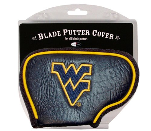 (Team Golf NCAA West Virginia Mountaineers Golf Club Blade Putter Headcover, Fits Most Blade Putters, Scotty Cameron, Taylormade, Odyssey, Titleist, Ping, Callaway)