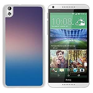 Unique Designed Cover Case For HTC Desire 816 With Dark Morning Gradation Blur Wallpaper (2) Phone Case