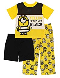 Despicable Me 3 Minions Boys 3 piece Pajamas Set (Little Kid/Big Kid)