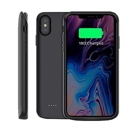 Funda Bateria para iPhone XS MAX, 6000mAh Carcasa Bateria ...