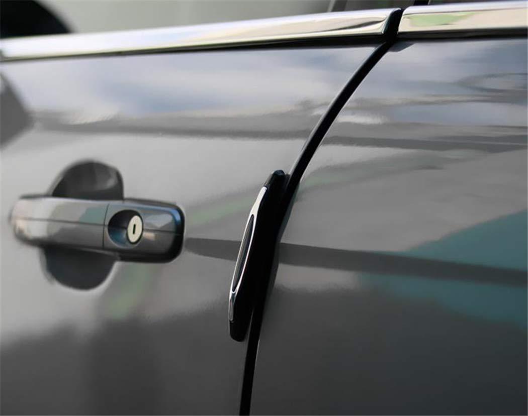 Fansport 4PCS Auto Sto/ßLeiste Universal Schutzkantenschutz F/üR Auto