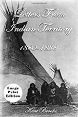 Letters From Indian Territory 1880-1888 (Heading West) Paperback