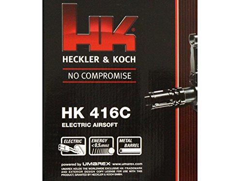 Mitraillette airsoft électrique puissante de marque Heckler & Koch - Inclus chargeur, câble et pochette - Puissance de… 3