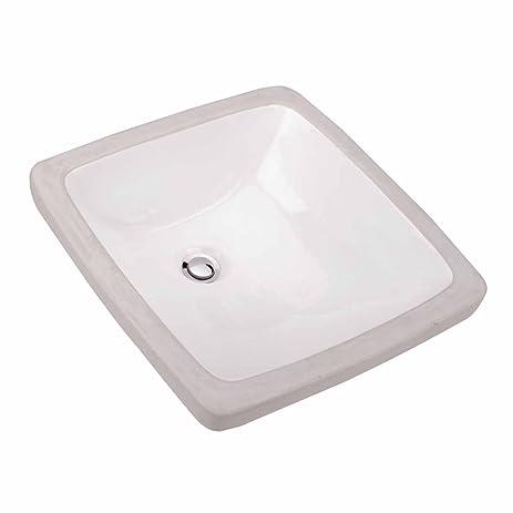 U0026quot;Providenceu0026quot; Under Counter White Vessel Sink Overflow |  Renovatoru0027s Supply