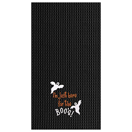 C&F Home 18x27 Halloween Kitchen Towel, I'm Here for the Boo's]()