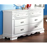 ACME 01685 Flora Dresser, White Finish