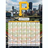 Pittsburgh Pirates Jumbo Dry Erase Sports Calendar