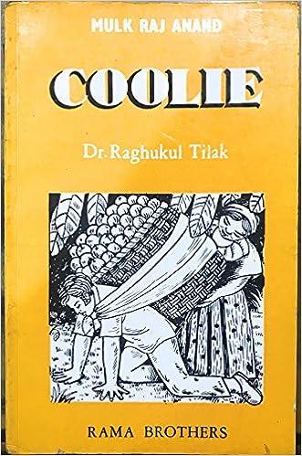 Mulk Raj Anand Coolie Ebook