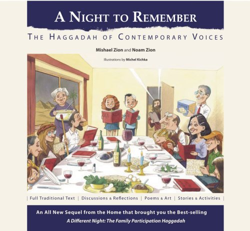 A Night to Remember: The Haggadah of Contemporary Voices (Hebrew -English) (English and Hebrew Edition)