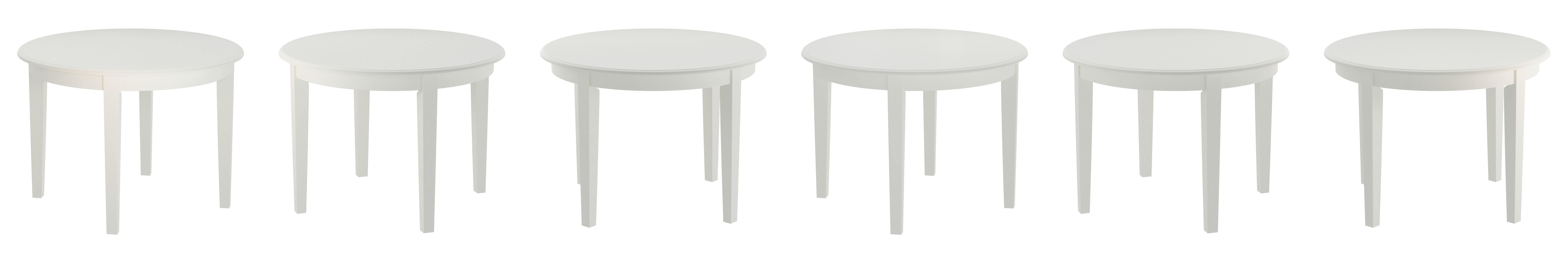 Amazon East West Furniture BOT WHI T Boston Table Round with 4