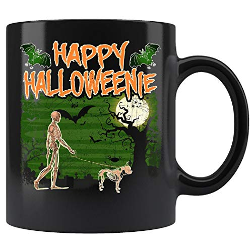 Boston Terrier Halloween Funny Mug Coffee Mug 11oz Gift Tea Cups -