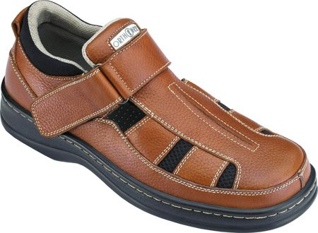 orthofeet-melbourne-mens-fisherman-strap-brown-leather-11-3e-us