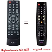 NEW replaced RC-057 RC 057 rc057 TV REMOTE CONTROL for COBY LEDTV1935 TFTV1925 TFTV2225 TFTV2425 TFTV4028 TFTV1925 TFTV2225 EDTV1935 TFTV1925 TFTV2225 TFTV2425 TFTV4028 LEDTV3226 LEDTV5536 TFTV3229 LEDTV1935 TFTV1925 TFTV2225 TFTV2425 TFTV4028 TV