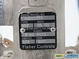 FISHER 627 5-20 PSIG 2 IN 150 FLANGED PRESSURE REDUCING