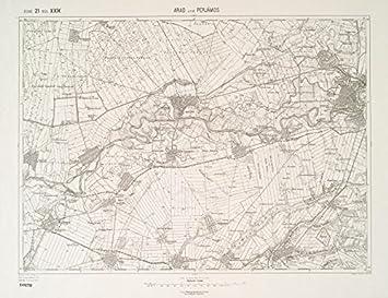 Amazoncom Historic 1912 Map Arad und Perjamos MapsAntique