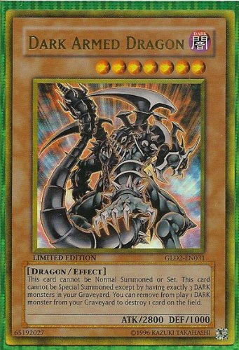 Yugioh GLD2-EN031 Dark Armed Dragon Gold Rare (Dark Armed Dragon Gold)