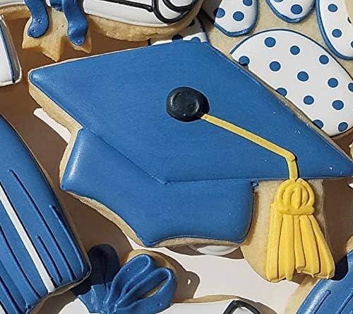 10,8 cm Ann Clark Cookie Cutters Emporte-pi/èce marteau//chapeau// gradu/é Acier de fabrication am/éricaine