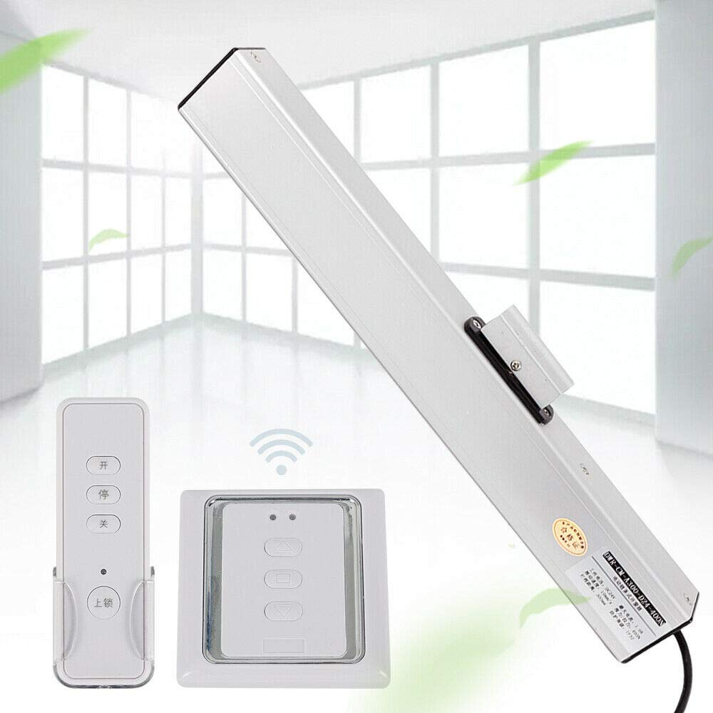 MONIPA Remote Control Electric Window Opener, Automatic Sliding Window Vent Operator, Window Chain Actuators System