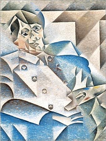 Posterlounge Cuadro de metacrilato 30 x 40 cm: Pablo Picasso de Juan Gris