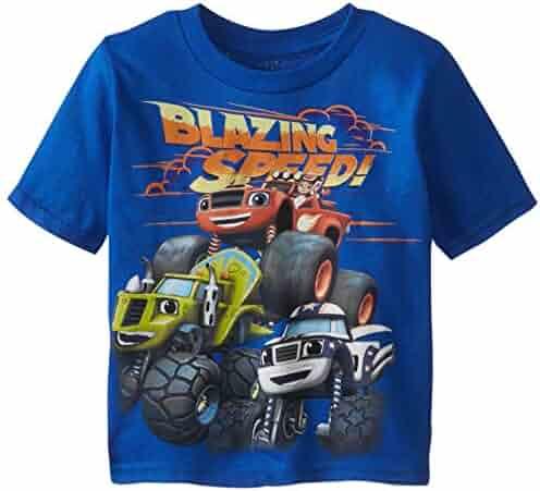Blaze and the Monster Machines Boys' Short Sleeve T-Shirt