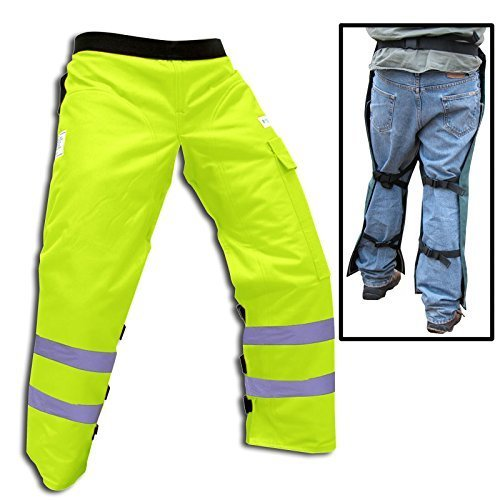 Forester Chainsaw Safety Chaps with Pocket, Apron Style (Regular 37