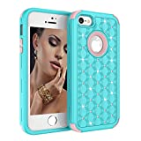 Best Zizo Iphone 5s Accessories - iPhone SE/5S/5 Case, UZER 3in1 Shockproof Drop-Protection Luxury Review