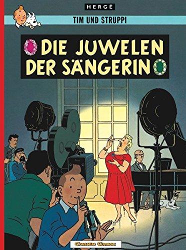 Tim und Struppi, Carlsen Comics, Neuausgabe, Bd.20, Die Juwelen der Sängerin (Tim & Struppi, Band 20)