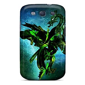 Evanhappy42 Perfect Cases For Galaxy S3/ Anti-scratch Protector Cases (fantasy Dragon Space)