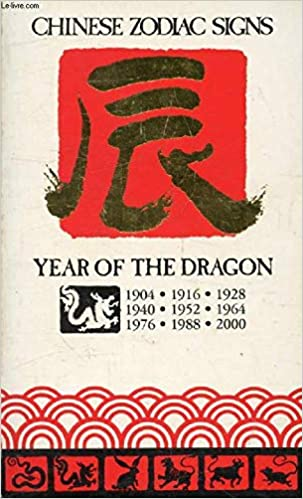 Chinese Zodiac Signs, the Year of the Dragon (1904, 1916