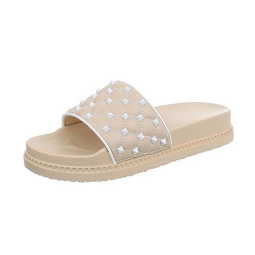 Ital Design Damenschuhe Sandalen & Sandaletten Pantoletten Pantoletten Pantoletten  Amazon ... 837cf1