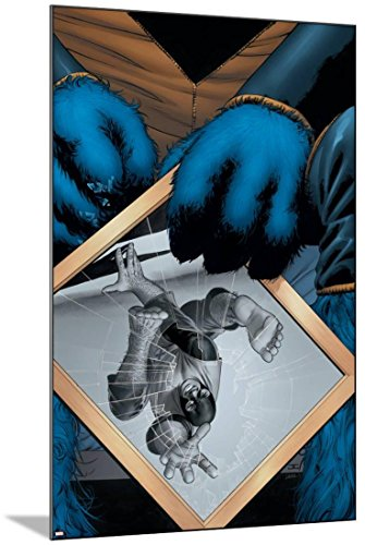 Astonishing X-Men No.4 Cover: Beast Mounted Poster 24 x 36 i